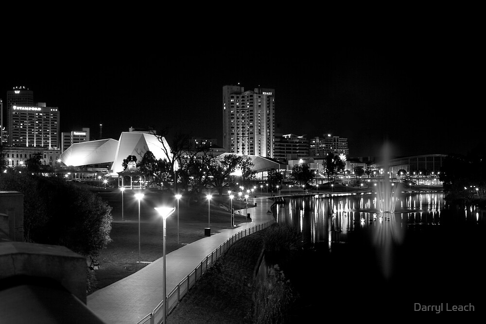 The River Torrens by Darryl Leach