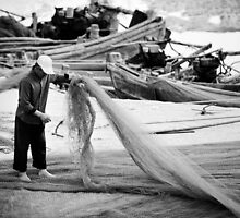 A Fisherman and his Nets - China by SeeOneSoul