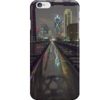 Dallas Train Tracks Reflection iPhone Case/Skin