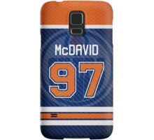 Oilers Connor McDavid - Jersey Style Samsung Galaxy Case/Skin