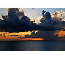 Sunrise over the Gulf of Mexico 0 Photographic Print