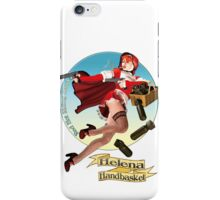 Helena Handbasket - Red Hot Riding Hood iPhone Case/Skin