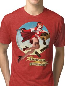 Helena Handbasket - Red Hot Riding Hood Tri-blend T-Shirt