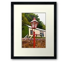 Goathland Station Light Framed Print