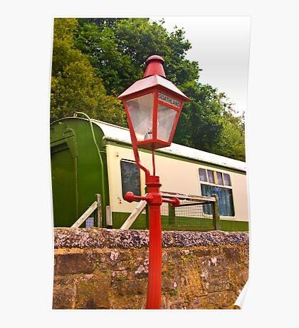 Goathland Station Light Poster