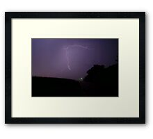 Late Night Excitement Framed Print