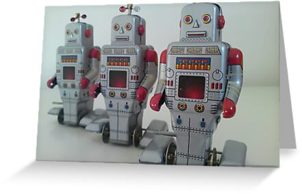 Tin Robots by jtst
