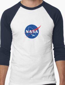 NASA LOGO SERENITY (FIREFLY) Men's Baseball ¾ T-Shirt