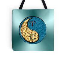 Aries & Snake Yin Water Tote Bag
