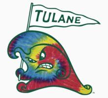 Tulane Rainbow Green Wave by katiefarello