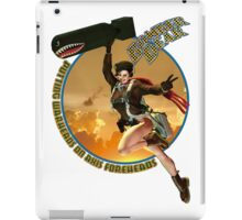 Bomber Dear - Putting Warheads on Axis Foreheads iPad Case/Skin