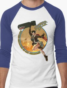 Bomber Dear - Putting Warheads on Axis Foreheads Men's Baseball ¾ T-Shirt