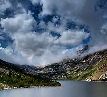Lake Sabrina by Chris Morrison