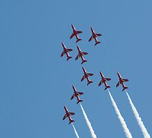 The Red Arrows - Apollo Formation by bubblebat