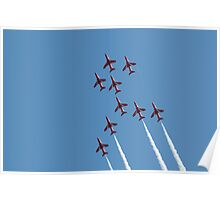 The Red Arrows - Apollo Formation Poster