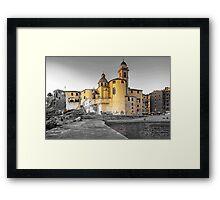 Pale Church Framed Print