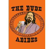 The Dude Abides. Photographic Print