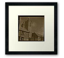 Somewhere in Cornwall Framed Print
