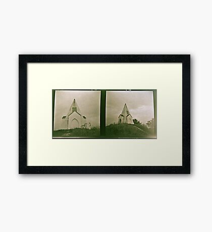 Farley Mount two times Framed Print