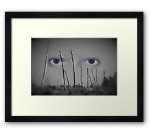 I see you... Framed Print