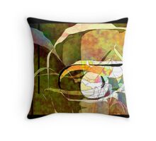 Abstract 224 Throw Pillow
