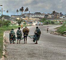 On the Road to Cape Coast by Wayne King