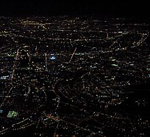 Paris  From Above   by BaZZuKa