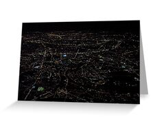 Paris  From Above   Greeting Card