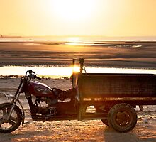 Tuk Tuk on the Beach by SeeOneSoul