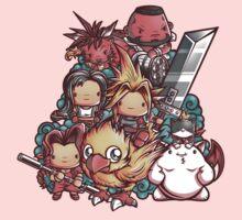 Cute Fantasy VII One Piece - Short Sleeve