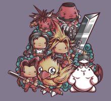 Cute Fantasy VII Kids Clothes