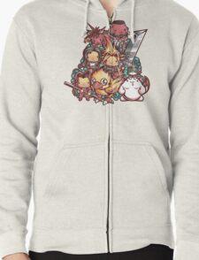 Cute Fantasy VII Zipped Hoodie