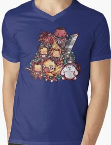 Cute Fantasy VII Mens V-Neck T-Shirt
