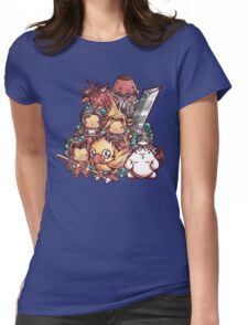 Cute Fantasy VII Womens Fitted T-Shirt