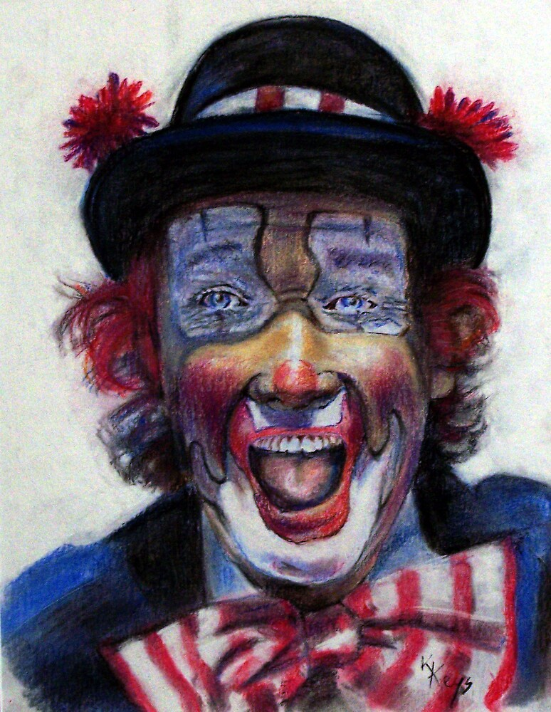 happy clown by keys307a