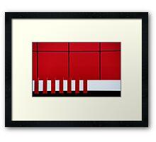 Seven Framed Print