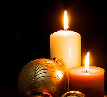 Christmas Candles by gfairbairn