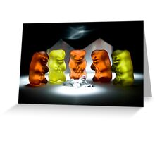 Gummy Bear Photography - Hello Campers! Greeting Card