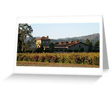 Winery of the Great  Napa Valley Greeting Card