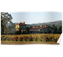 Winery of the Great  Napa Valley Poster