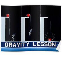 GRAVITY LESSON Poster