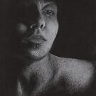 Lonesome and in Love [Self-Portrait in White Prisma] by laumbach90
