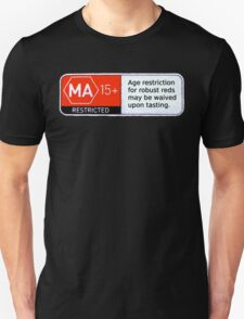 MA15+ Robust Reds, Funny Unisex T-Shirt