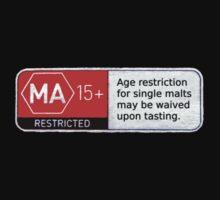 MA15+ Single Malts, Funny by Ron Marton