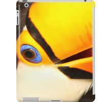Detailed Portrait of a Toco Toucan at Iguassu, Brazil.  iPad Case/Skin