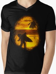 Secret Spot Mens V-Neck T-Shirt