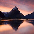 Mitre Peak. by Michael Treloar