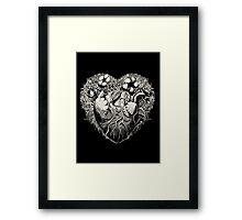 Foliage Heart II Framed Print