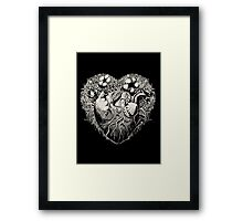 Foliage Heart II Framed Print