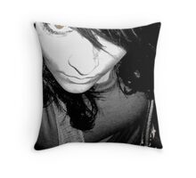 Eyes are the Best Accessory Throw Pillow